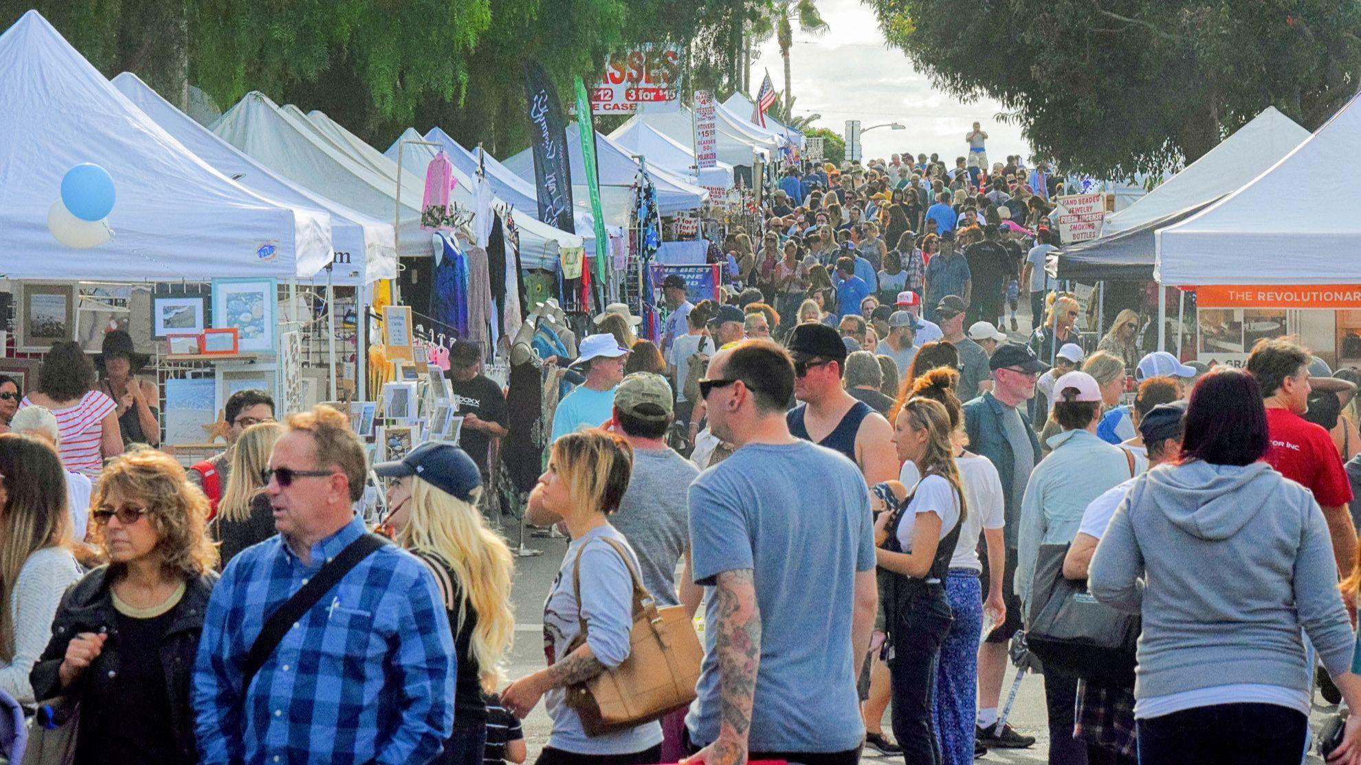 Popular street fair returns to Carlsbad