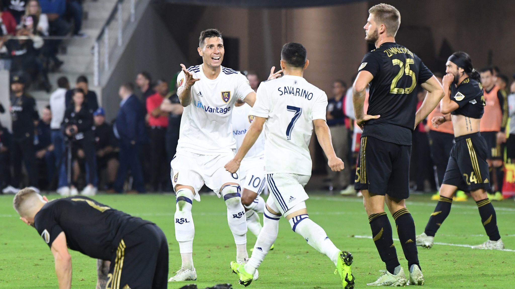 LAFC's first playoff appearance ends with loss to Real Salt Lake