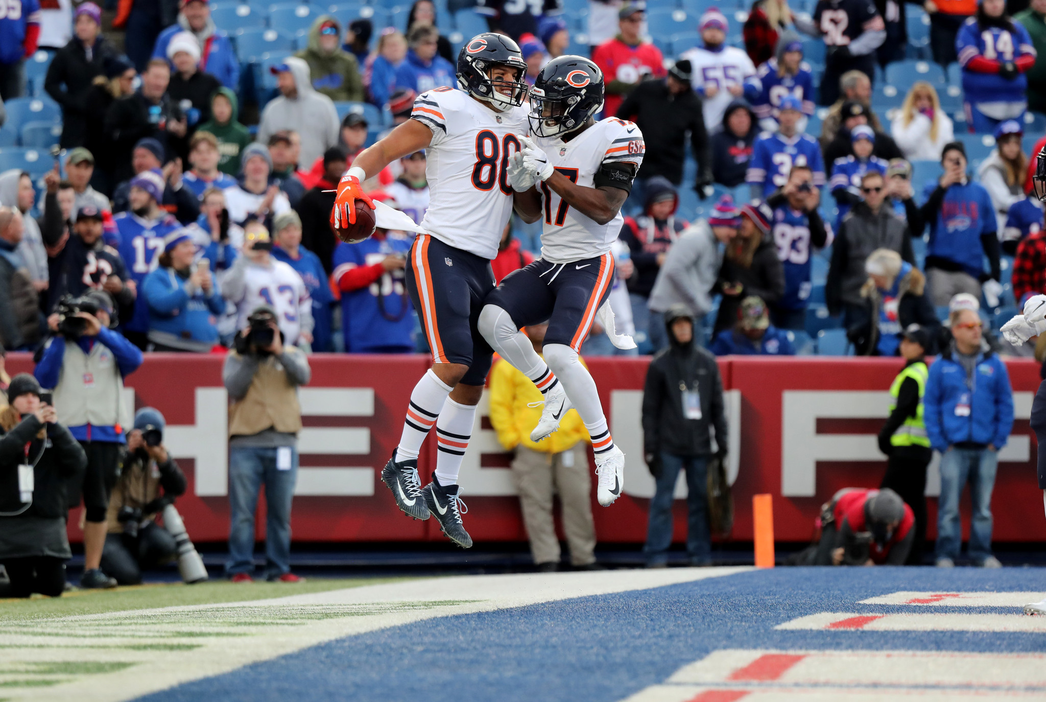 Week 9: Bears 41, Bills 9
