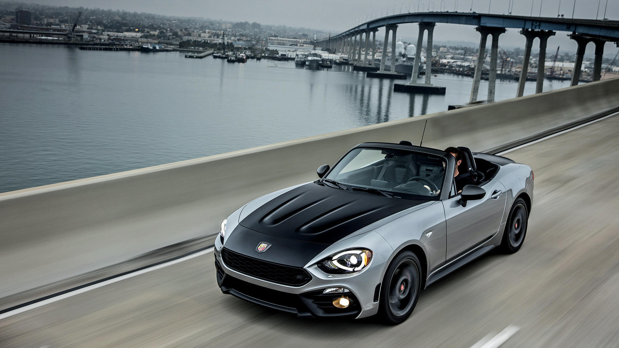 A peppy update to the 124 Spider Abarth, the sportiest of the Fiats