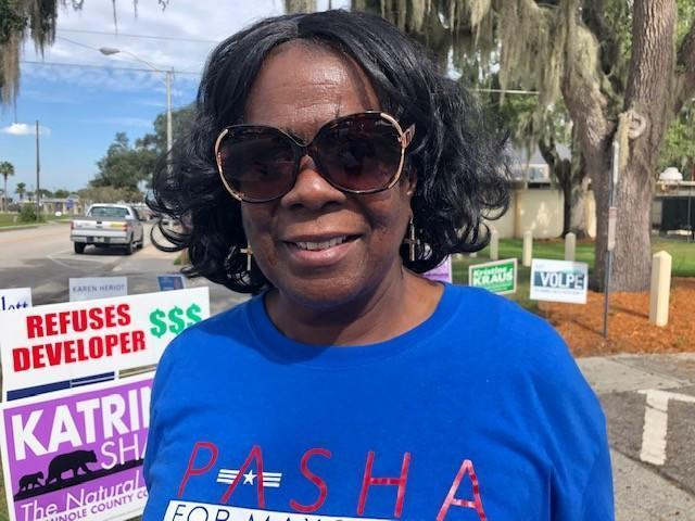 Florida woman dislikes Trump but hopes everyone can work together