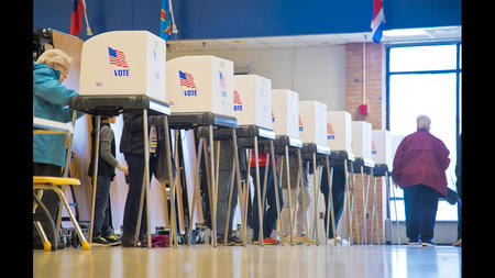 Election 2018 Voting In Carroll County Brisk Deemed A Referendum On President Trump