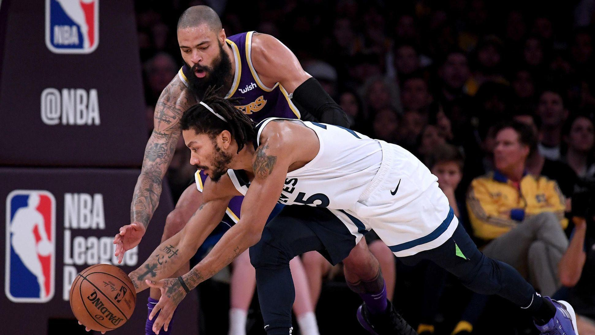 Last night in the NBA: Tyson Chandler is already helping the Lakers, who need all the help they can get