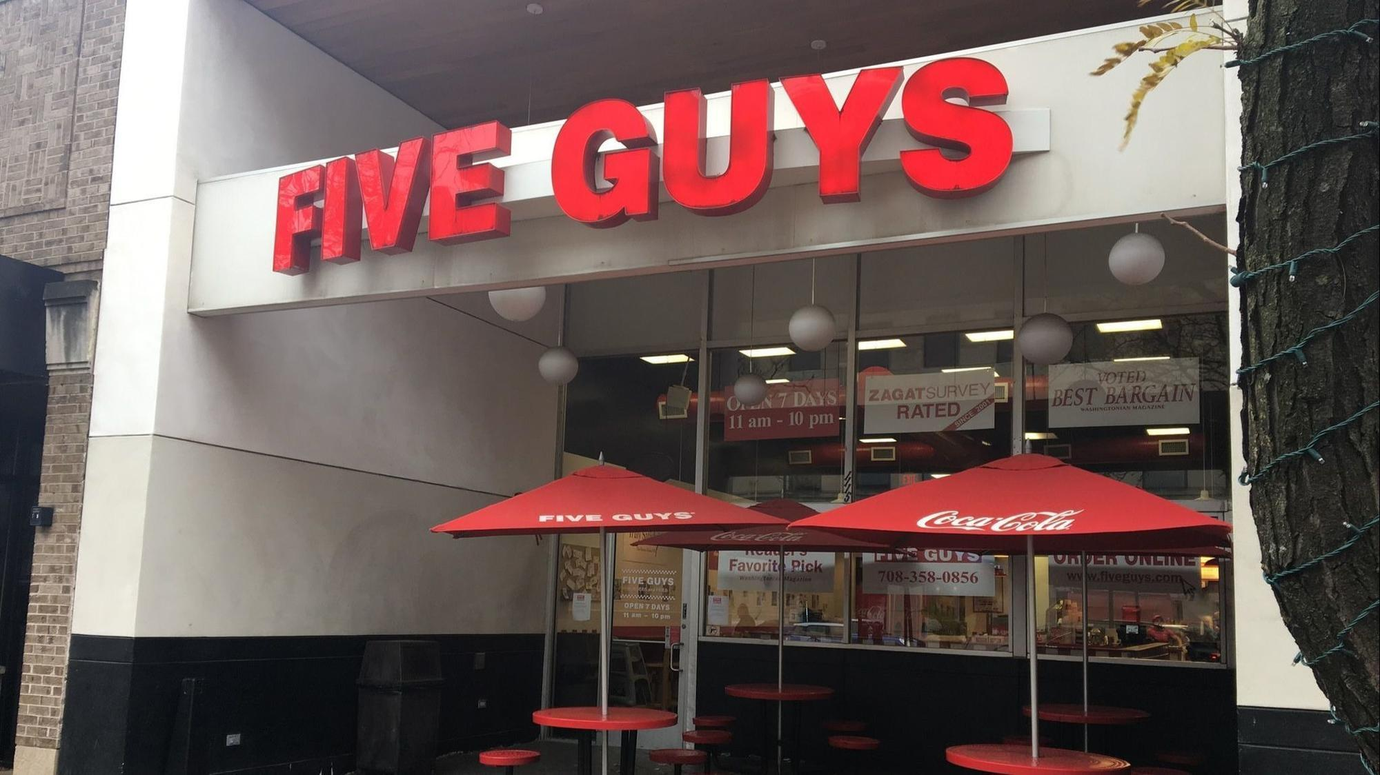 After 10 Years In Downtown Oak Park Five Guys To Close Lake Street Location Oak Leaves