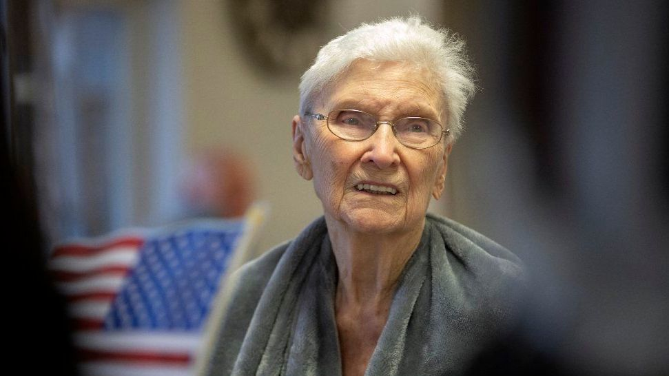 'No one tried to talk me out of it': 96-year-old veteran reflects on her WWII service and her life