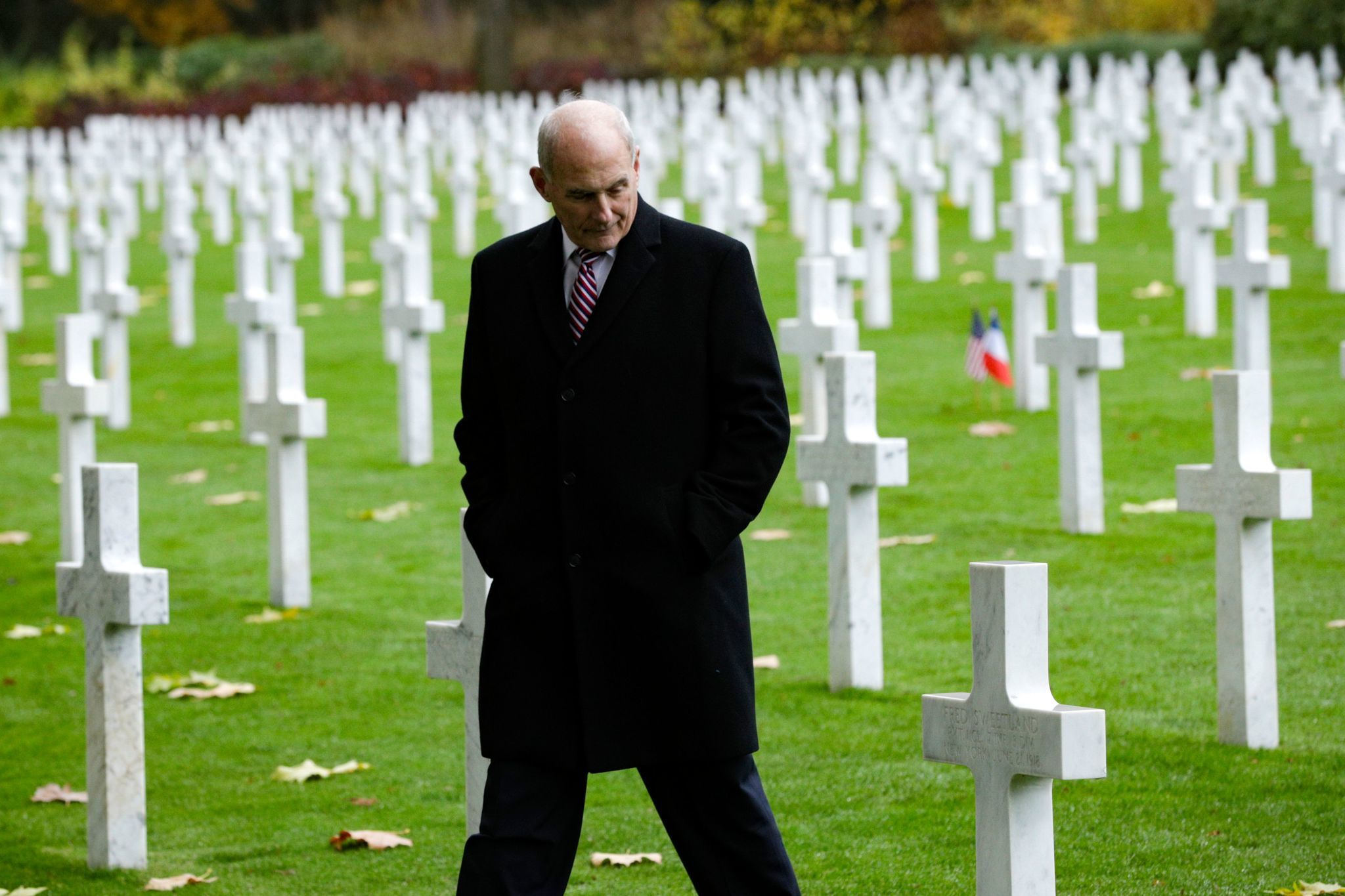 'Real low energy': Critics pile on after Trump cancels visit to U.S. military cemetery outside Paris
