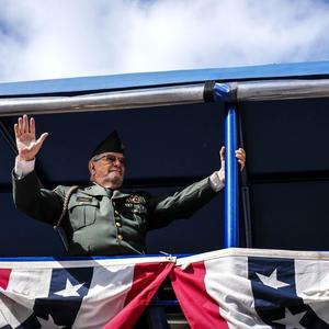 WWII Combat Airmen Lead Veterans Unit At Orlando Parade: U0027It Means A Lot  Because