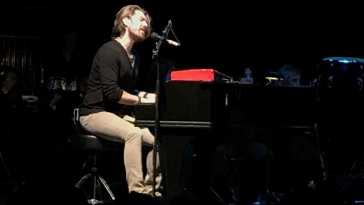Taylor Hanson performs at Tower Theatre in Upper Darby on Sunday