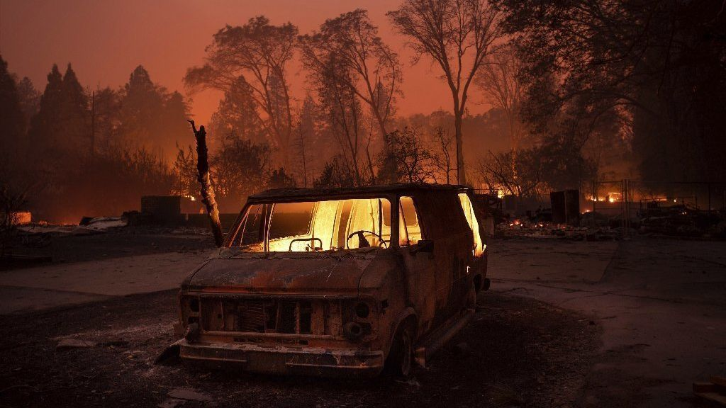 California's recent blazes aren't the result of overgrown forests, as Trump suggests | San Diego Union Tribune