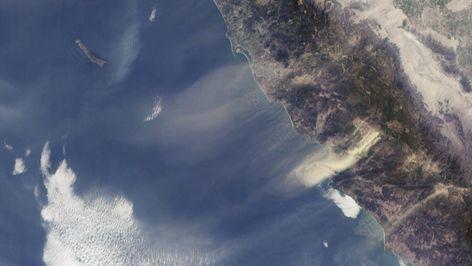 Powerful Santa Ana winds will return Tuesday and hit wider area of San Diego County | San Diego Union Tribune