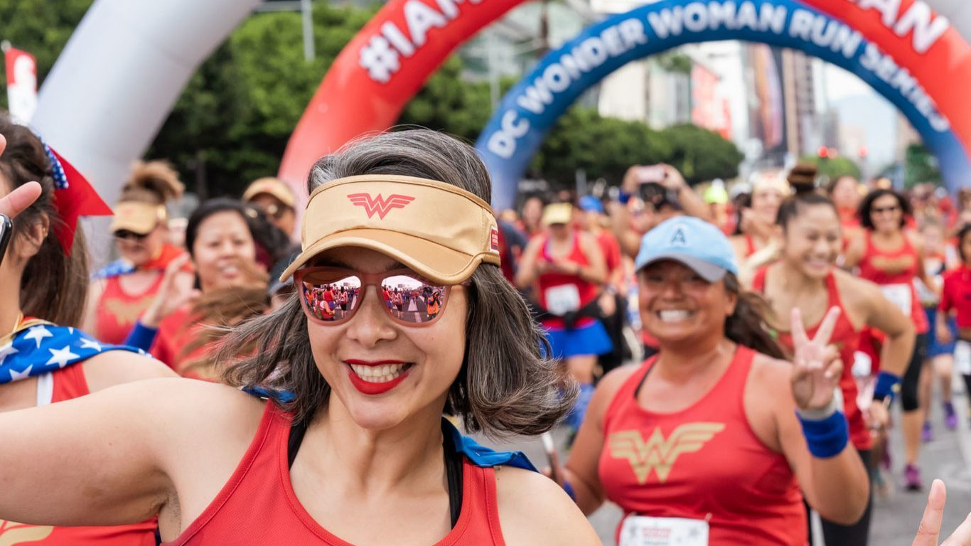 Join fellow super heroes for the new DC Wonder Woman run in San Diego