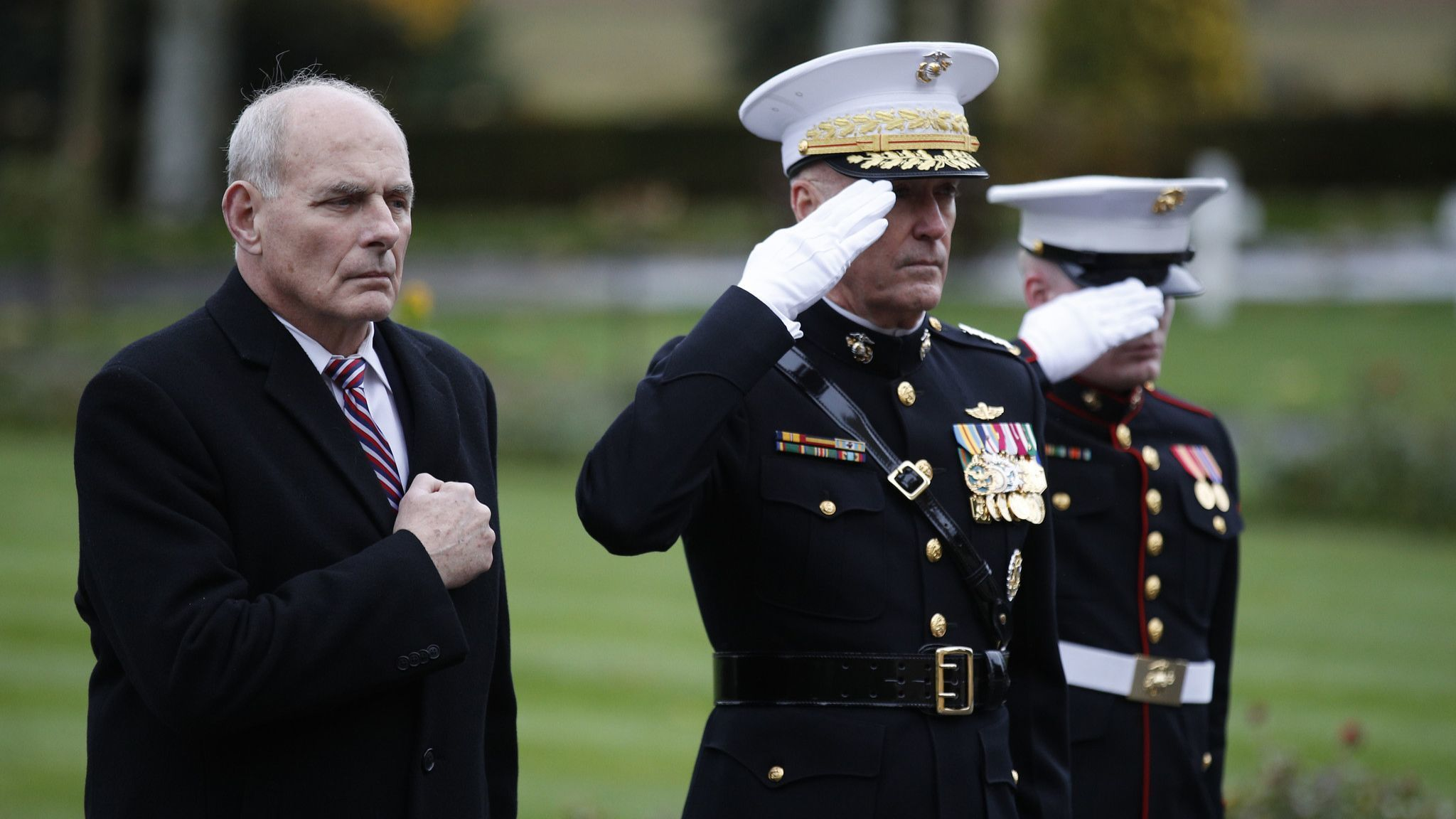 Trump shows his contempt for the men and women in uniform