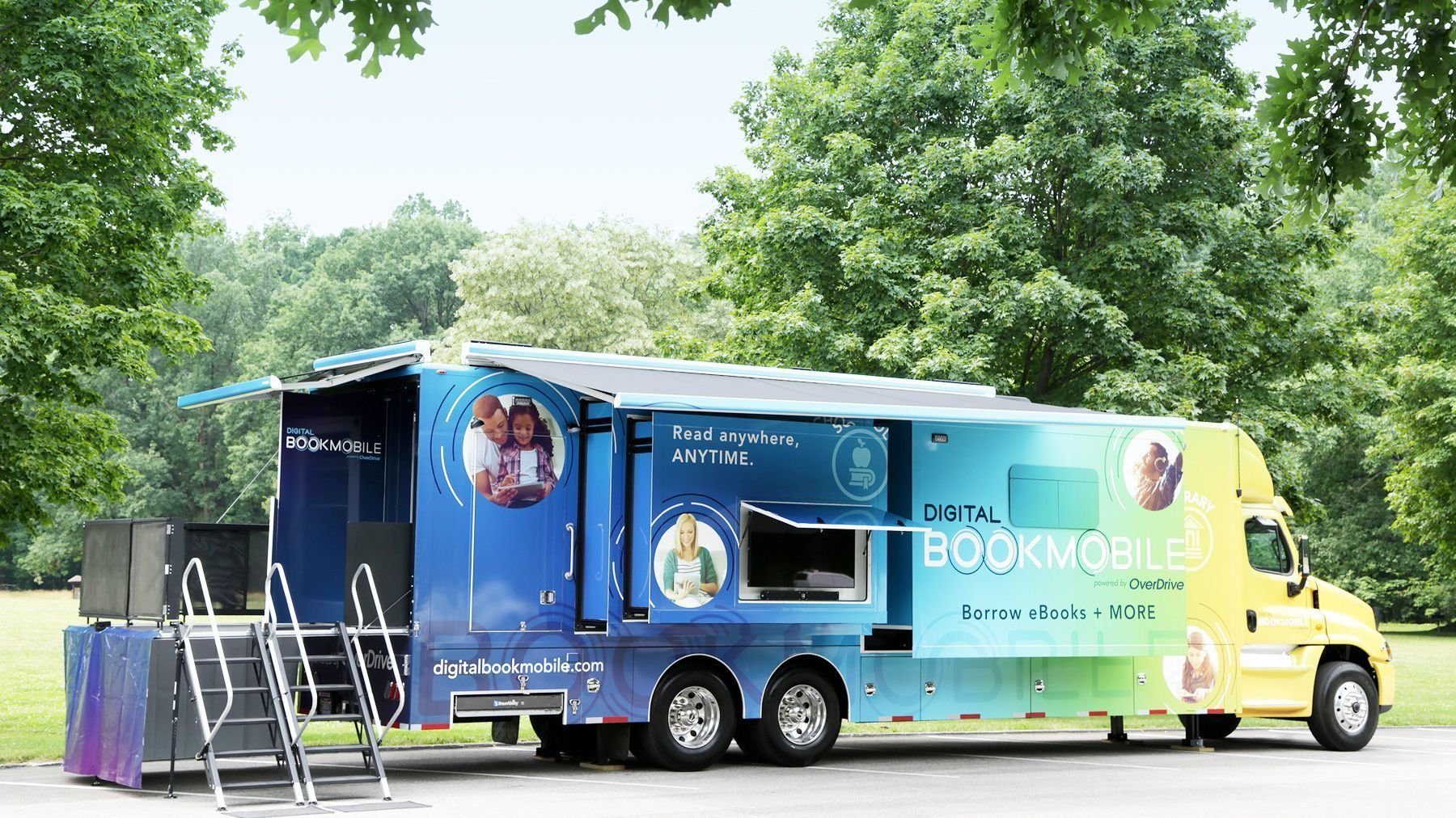 Poway Library will host digital bookmobile Friday