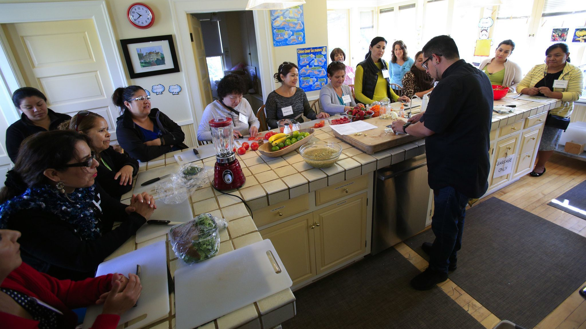 Remodeled kitchen will help Olivewood Gardens and Learning Center expand cooking classes