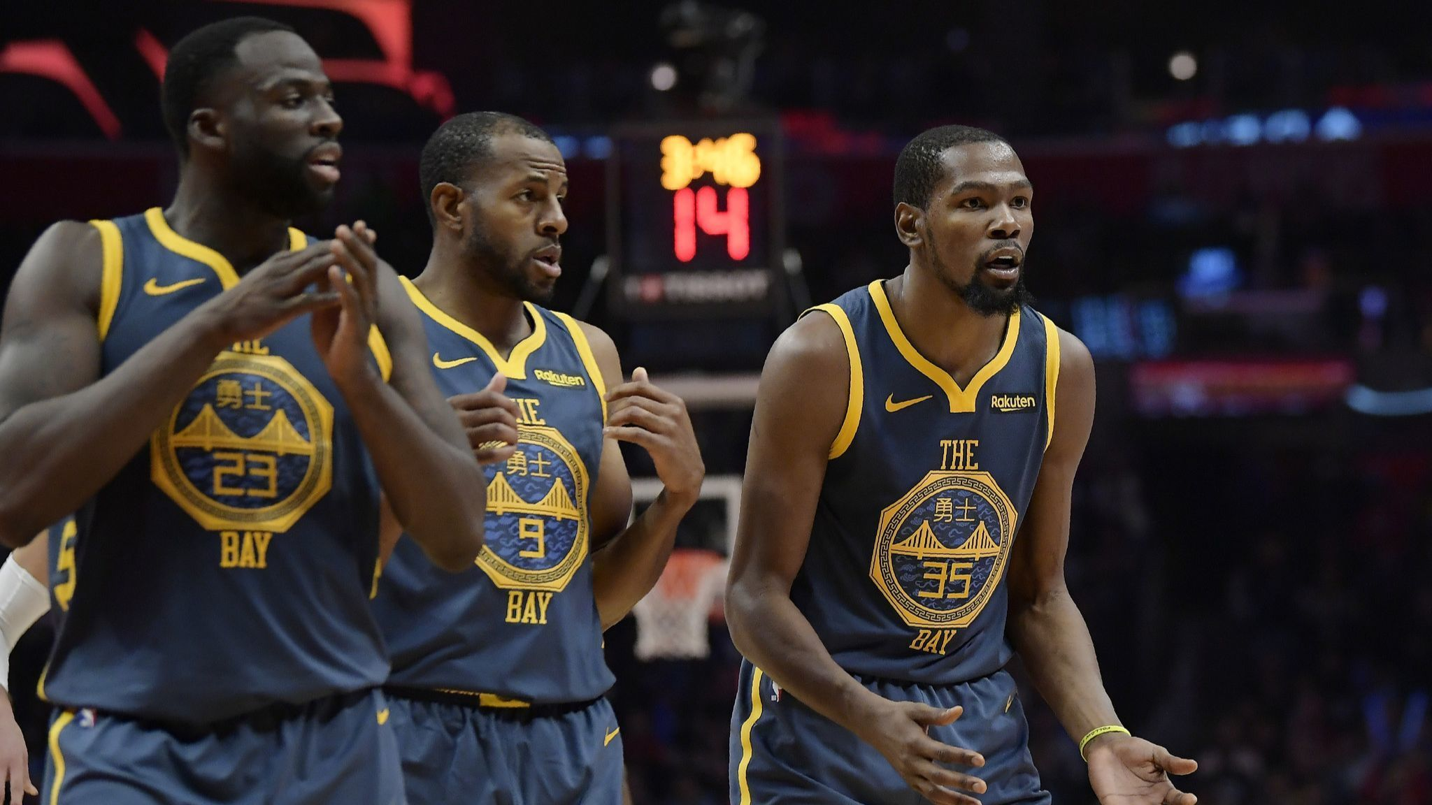 NBA notes: Warriors suspend Draymond Green one game for conduct following loss to Clippers