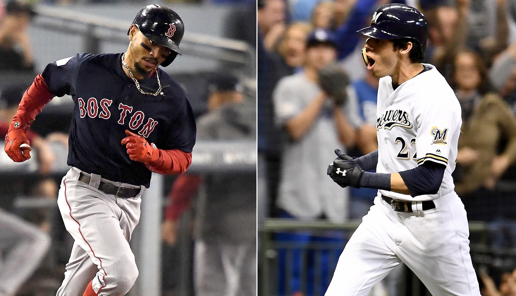 Mookie Betts, Christian Yelich win AL and NL MVP awards