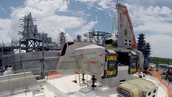 Star Wars: Galaxy's Edge construction set to John Williams' new score