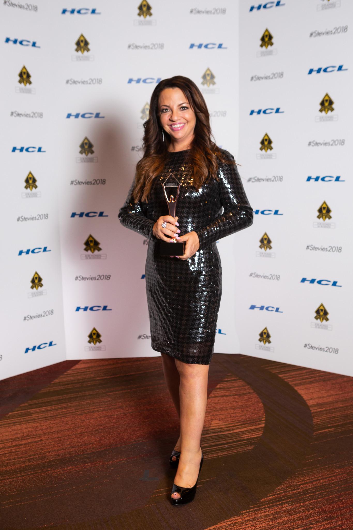 PR innovator Michelle Mekky wins prestigious Stevie Award for Women in Business, receiving bronze medal as Entrepreneur of the Year in New York Nov. 16