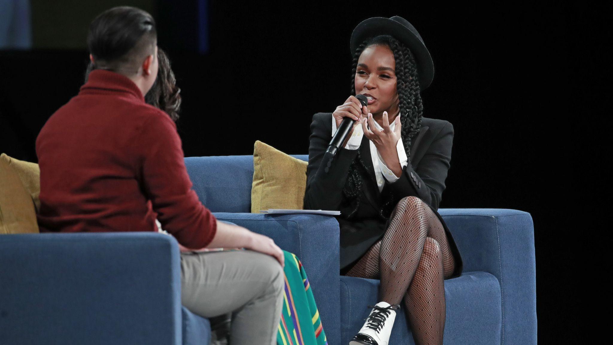 Pop star Janelle Monae spreads message of community uplift at Obama Foundation summit
