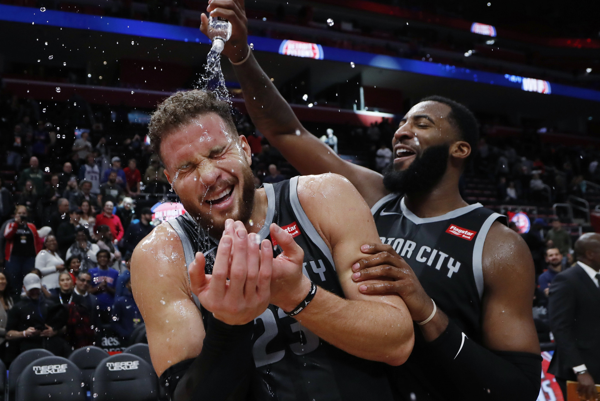 Blake Griffin is happy, healthy and hooping in Detroit
