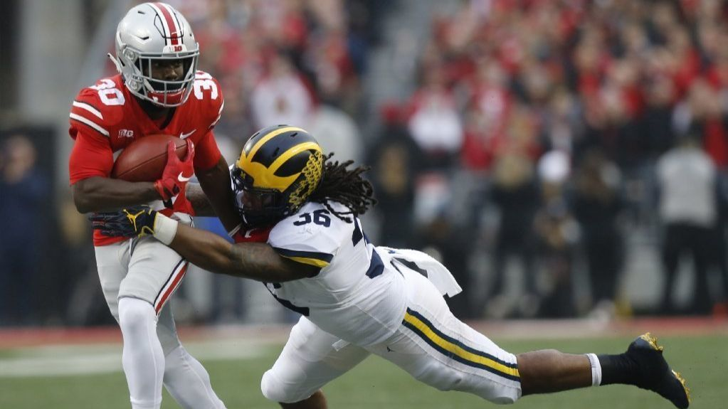 College football: Buckeyes disintegrate vaunted defense of No. 4 Michigan; Gators end Florida State's 35-year bowl streak