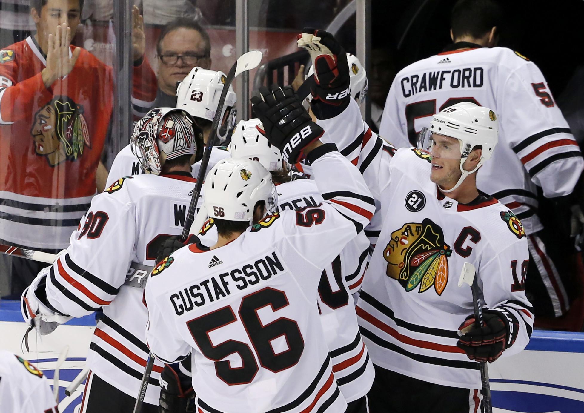Blackhawks 5, Panthers 4 (OT)