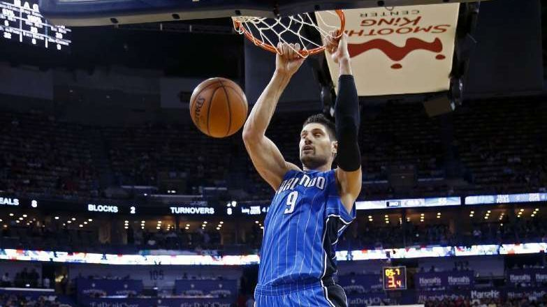 Nikola Vucevic is making his mark in the NBA, and it's not just on the Lakers