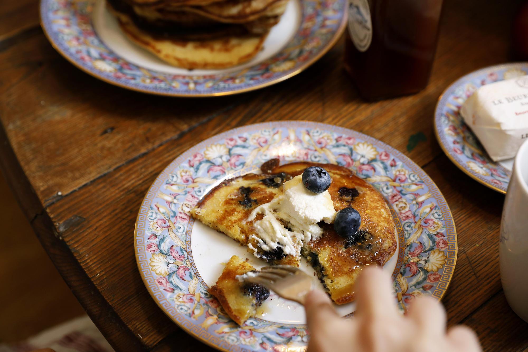 Pancake breakfast party