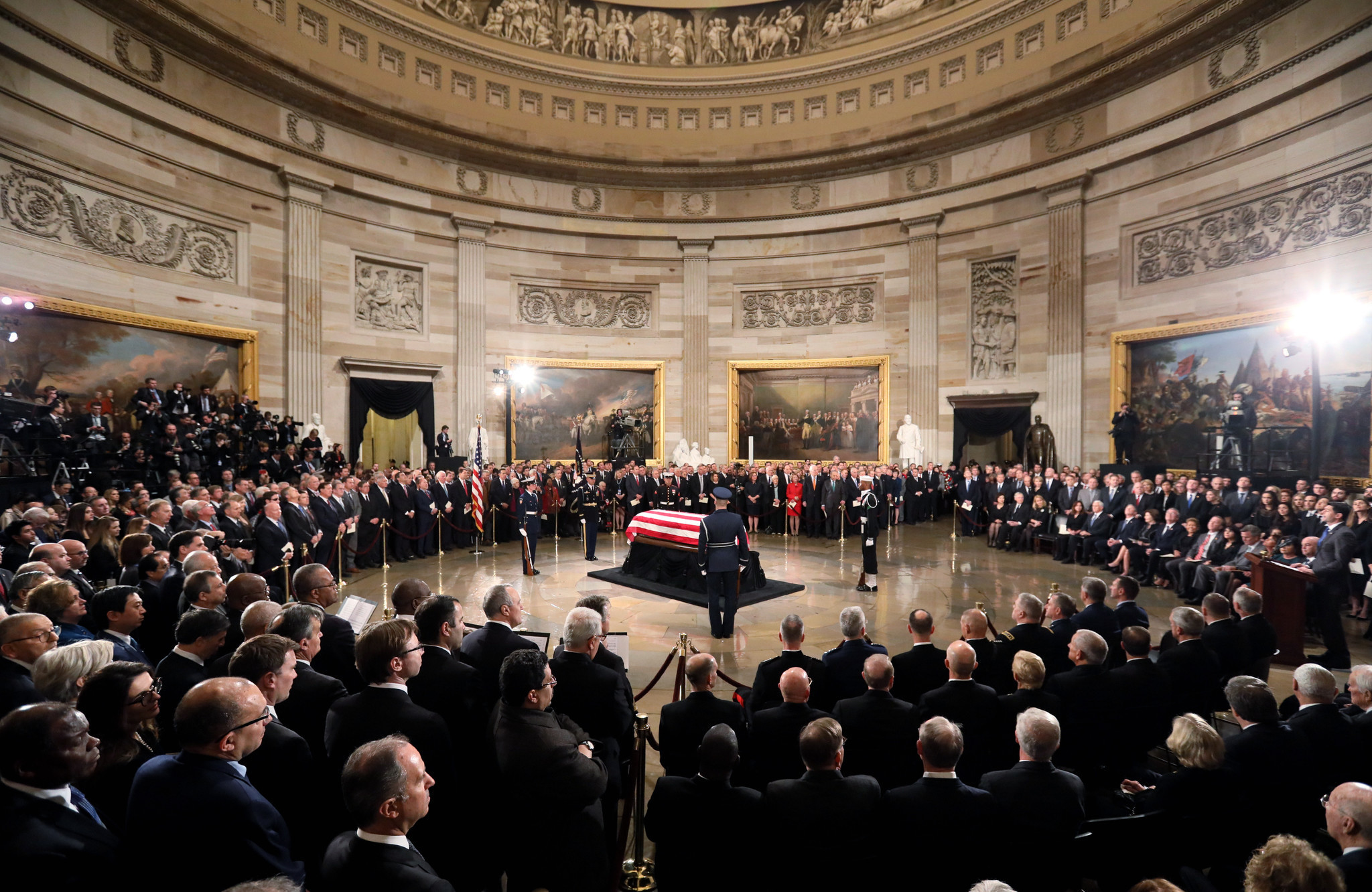 Image result for george bush funeral