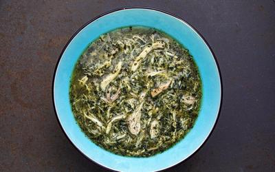 Jute mallow soup