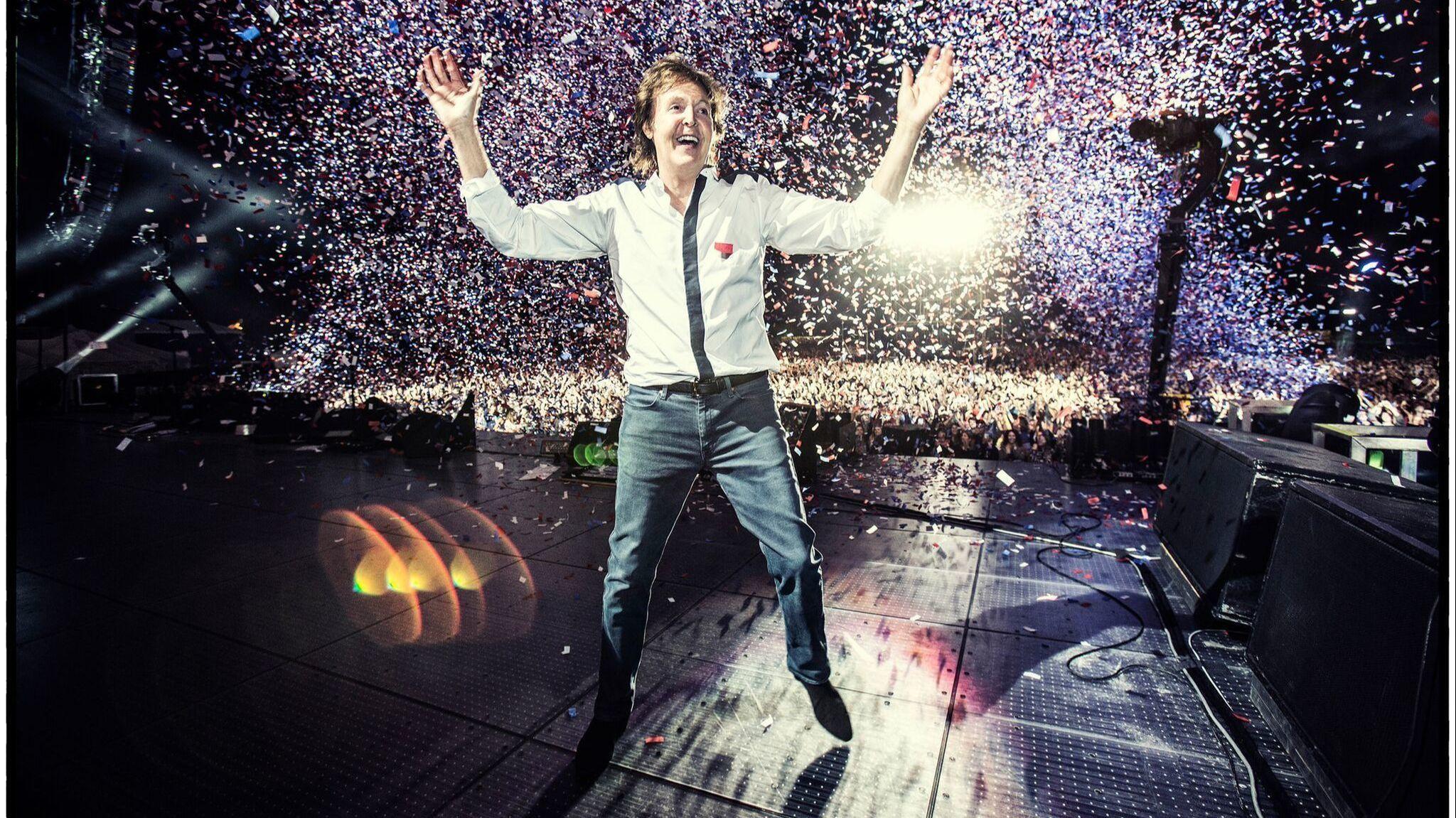 Paul McCartney announces new stadium shows in San Diego, Los Angeles, Green Bay and Arlington, Texas
