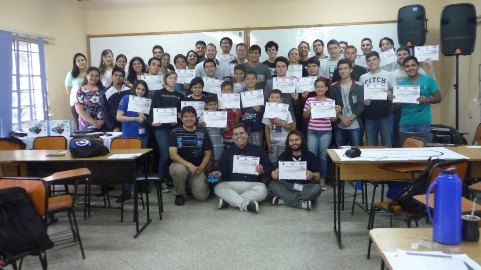 Poway High's Team Spyder offers robotics mentoring to students in Paraguay