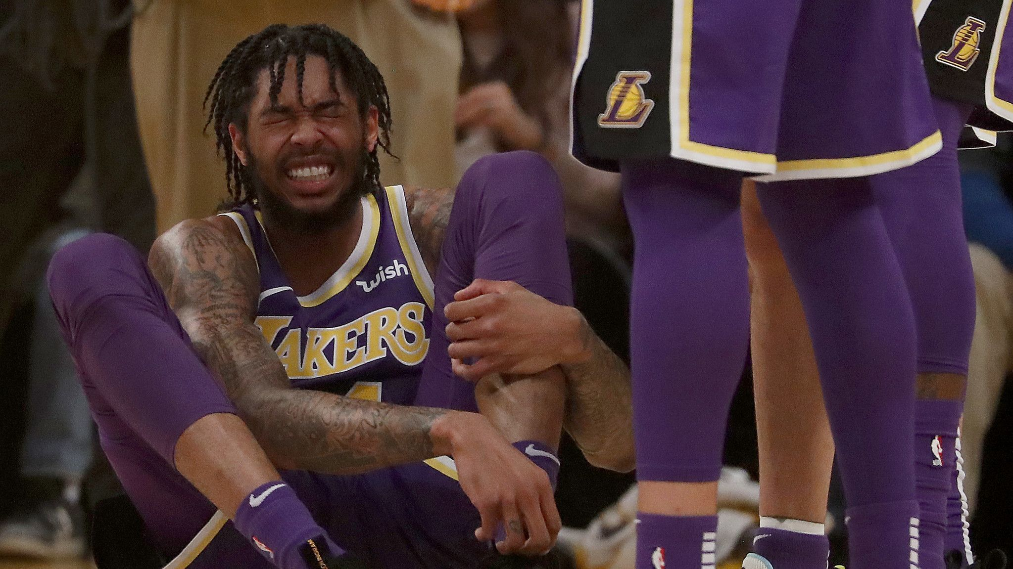 Brandon Ingram to be re-evaluated next week after MRI confirms sprained ankle