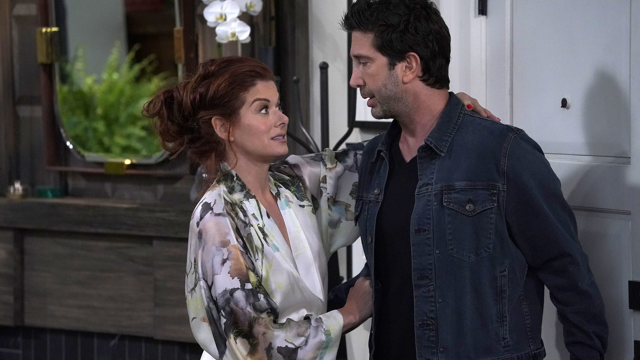 Debra Messing on her Golden Globes nomination, and the 'Will &Grace' tradition of losing out on awards night