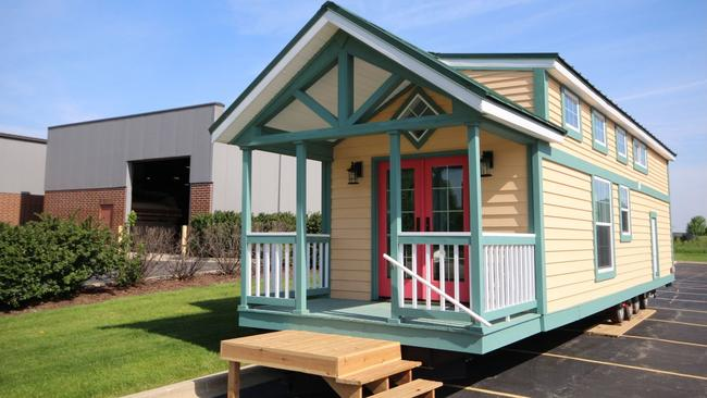 Tiny homes and shipping containers: Living large in unique housing on papa john's house, home depot house, wendy's house, burger king house, coca-cola house, mcdonald's house,