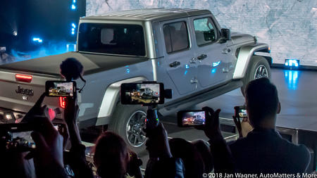 Automatters More All New 2020 Jeep Gladiator Revealed At The La
