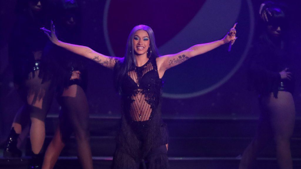 Cardi B brought the jams and the magic to the B96 Jingle Bash