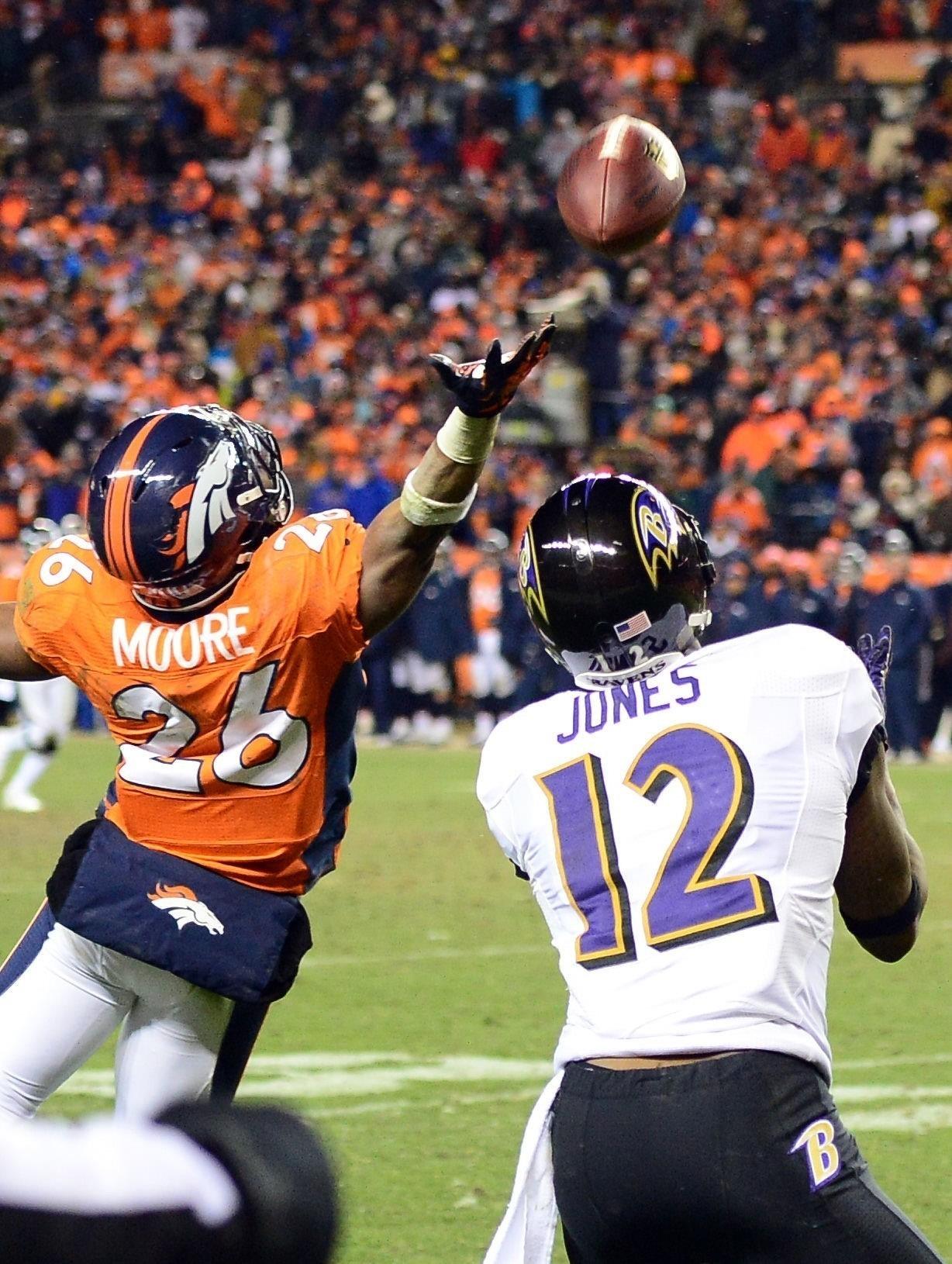 Denver still dwelling on Jacoby Jones' heroic TD - Baltimore Sun