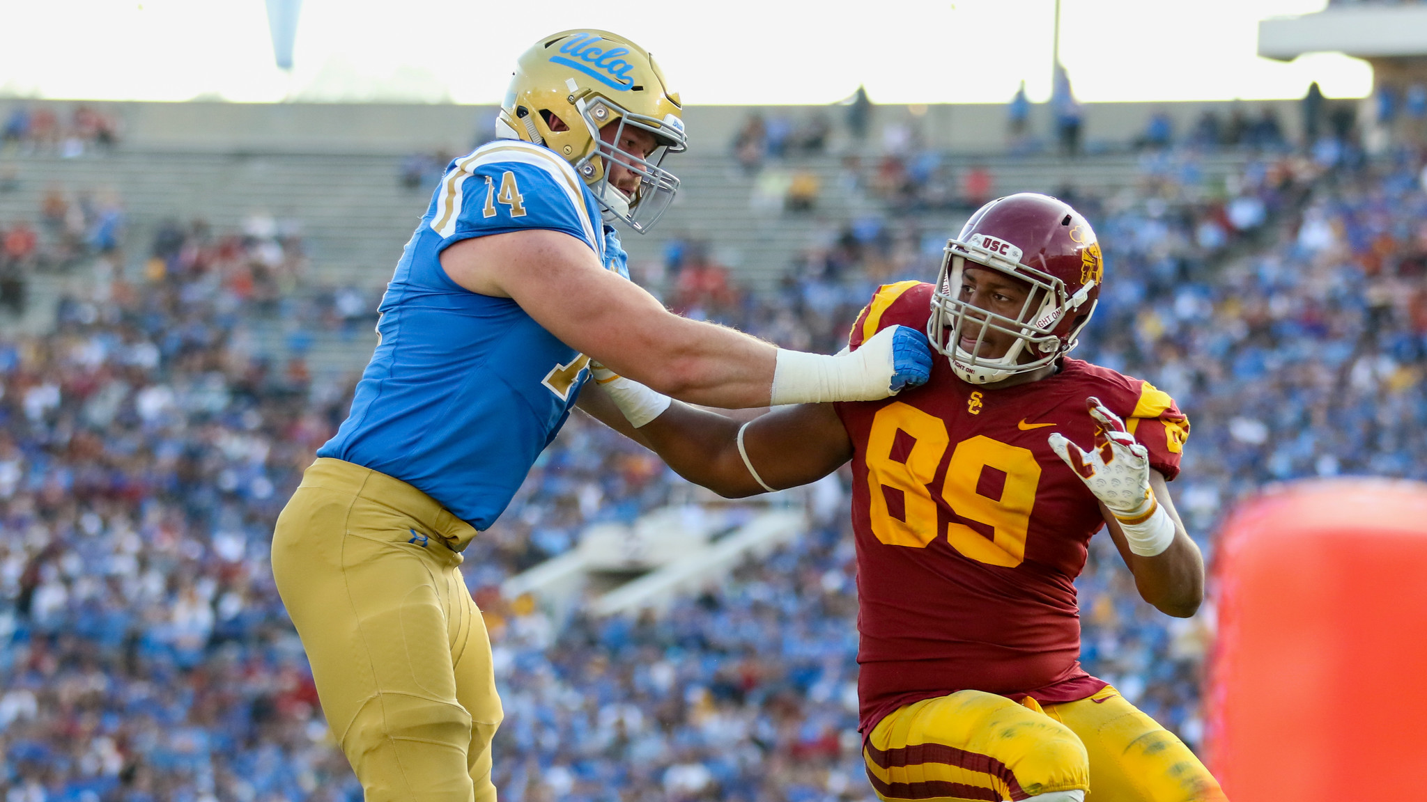 UCLA offensive tackle Justin Murphy granted a sixth year of eligibility