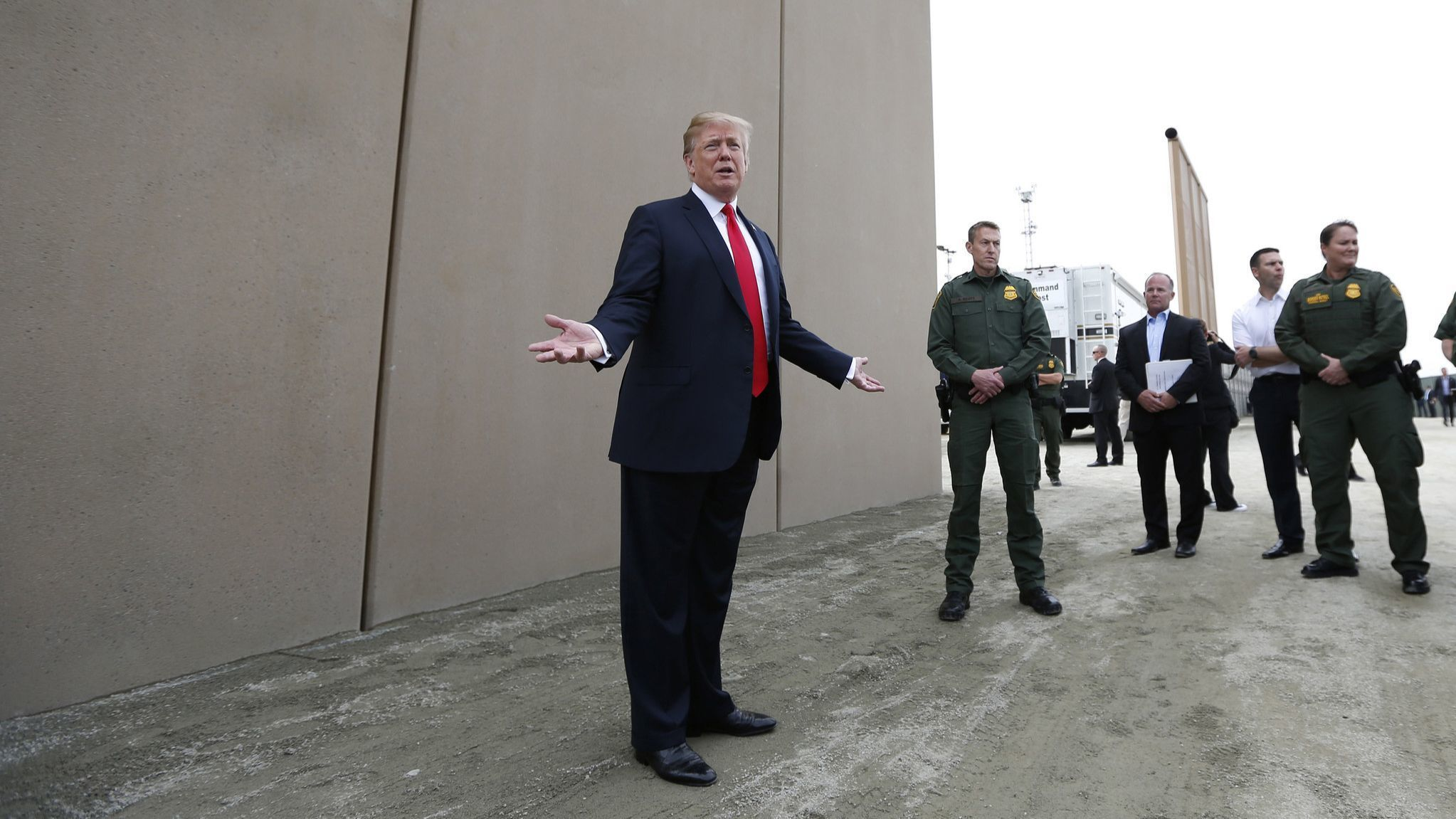 Trump's 'beautiful wall' is a vanity project and nothing more. Democrats should treat it as such