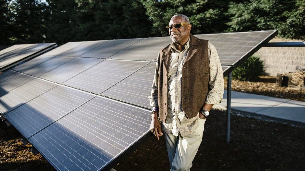 Dusty Baker — yes, the former Cubs manager — wants to harness the power of the sun