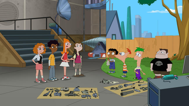phineas and ferb characters buford