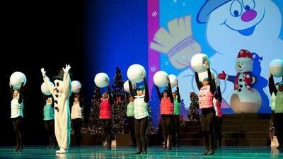 'Full circle': New mom Tiffany Haas returns to Academy of Dance Christmas show