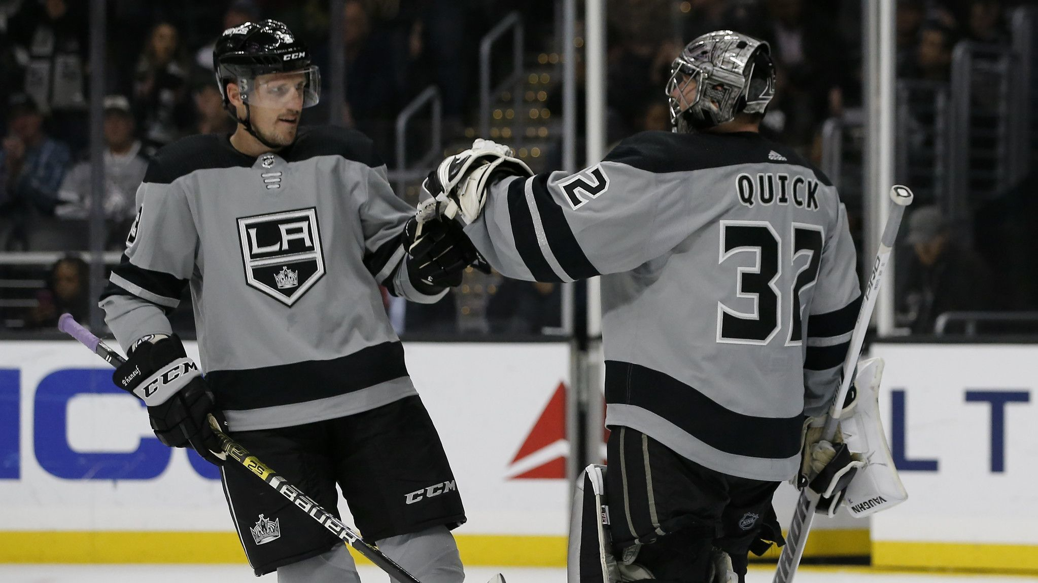 Kings taking more hits on defense as Phaneuf is sent home for evaluation and Doughty is day-to-day