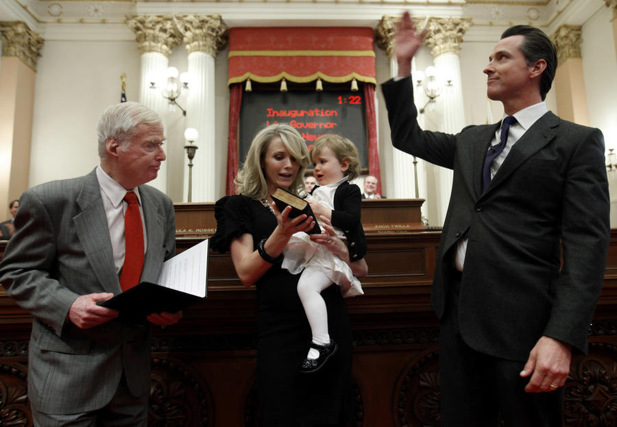 Retired appeals court justice William Newsom, father of California Gov.-elect Gavin Newsom, dies at 84