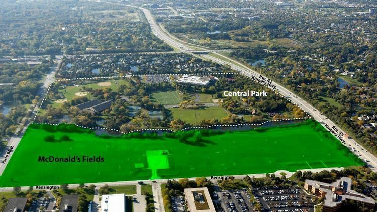 Oak Brook Park District may have deal to purchase 34 acres of McDonald's property