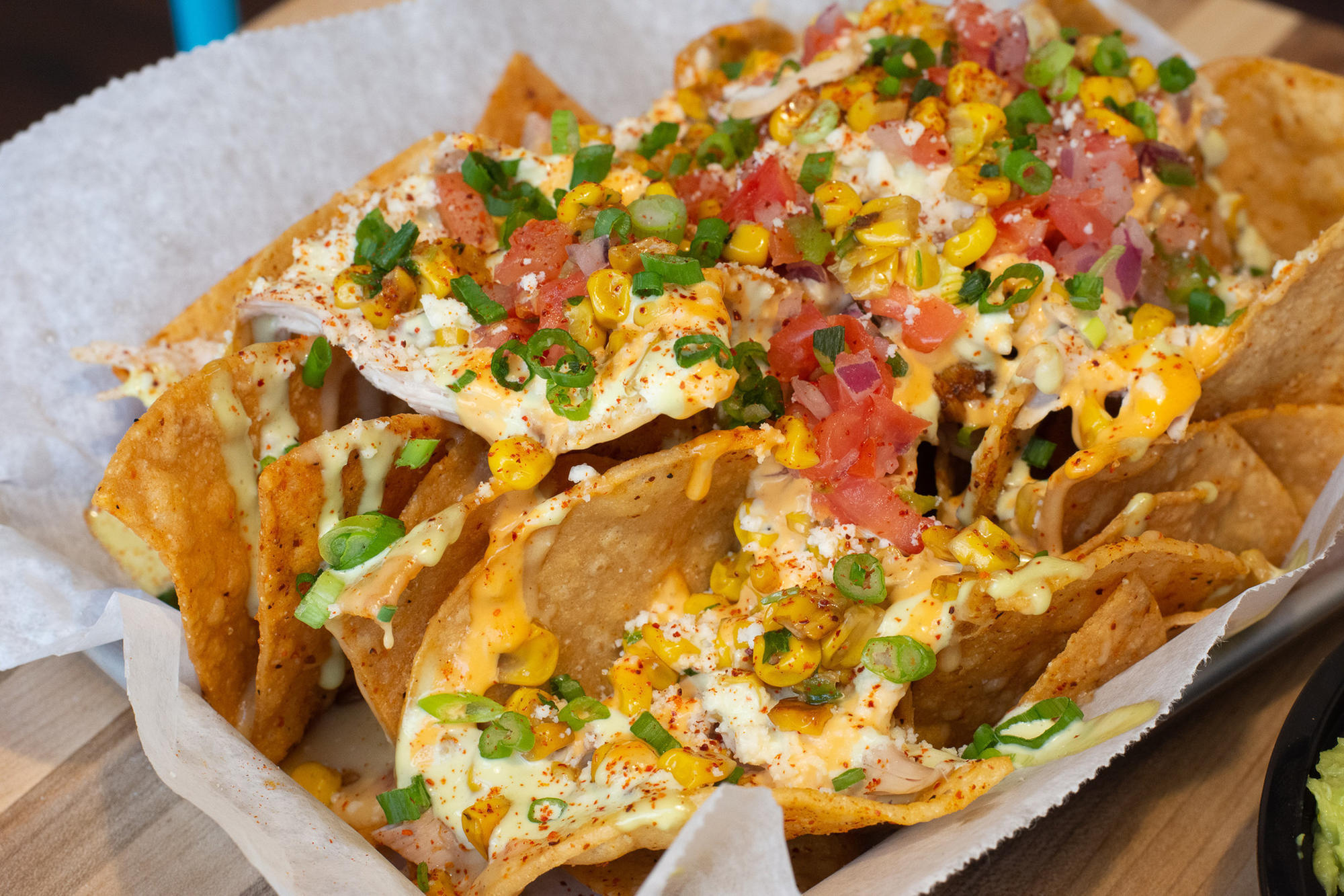 El Pollo Guapo has expanded to Hartford's Front Street, and there are nachos