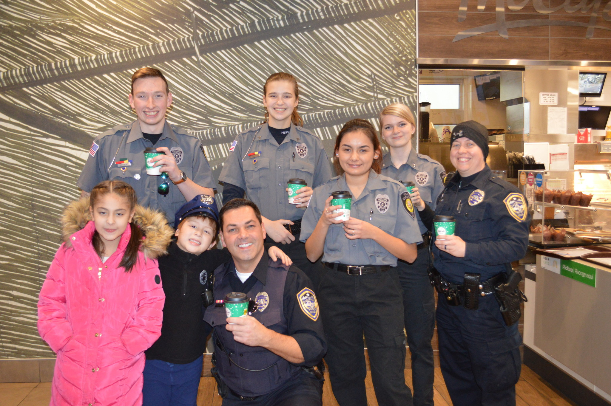 Cocoa with Cops brings community and police together