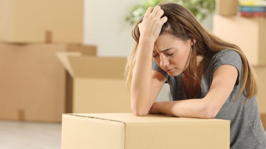 What do you do when a seller won't leave after closing?