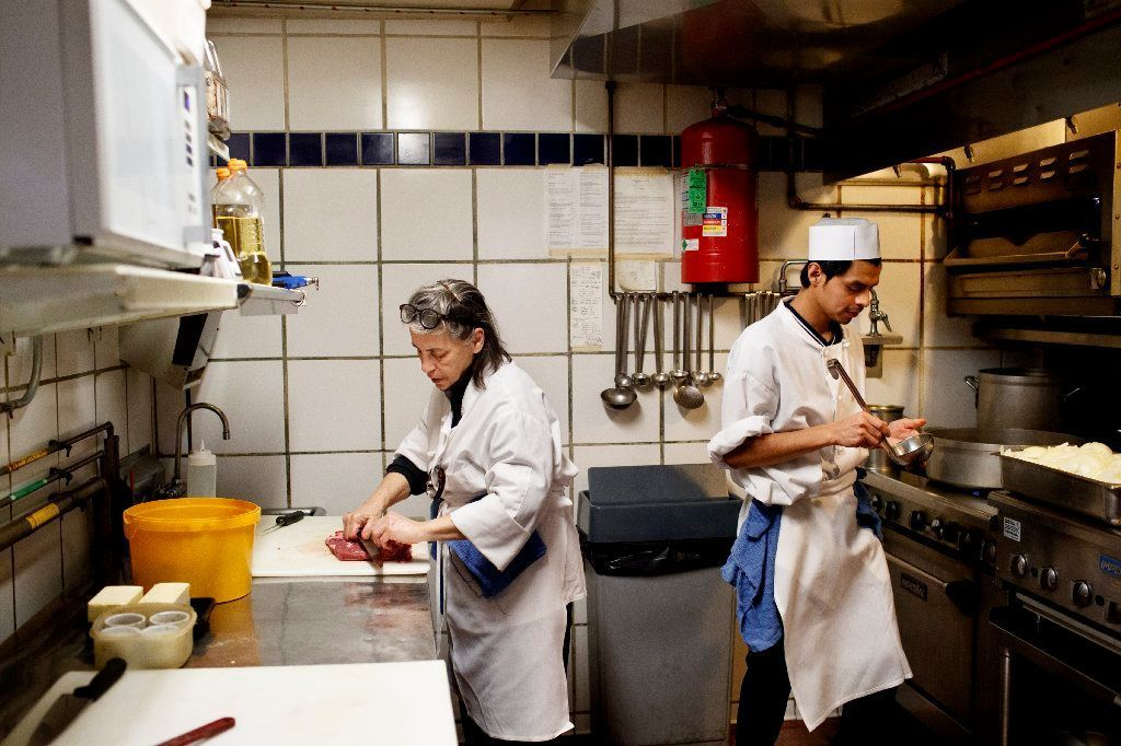 Chicago's restaurant boom has caused a kitchen labor crunch, and small operators feel especially squeezed